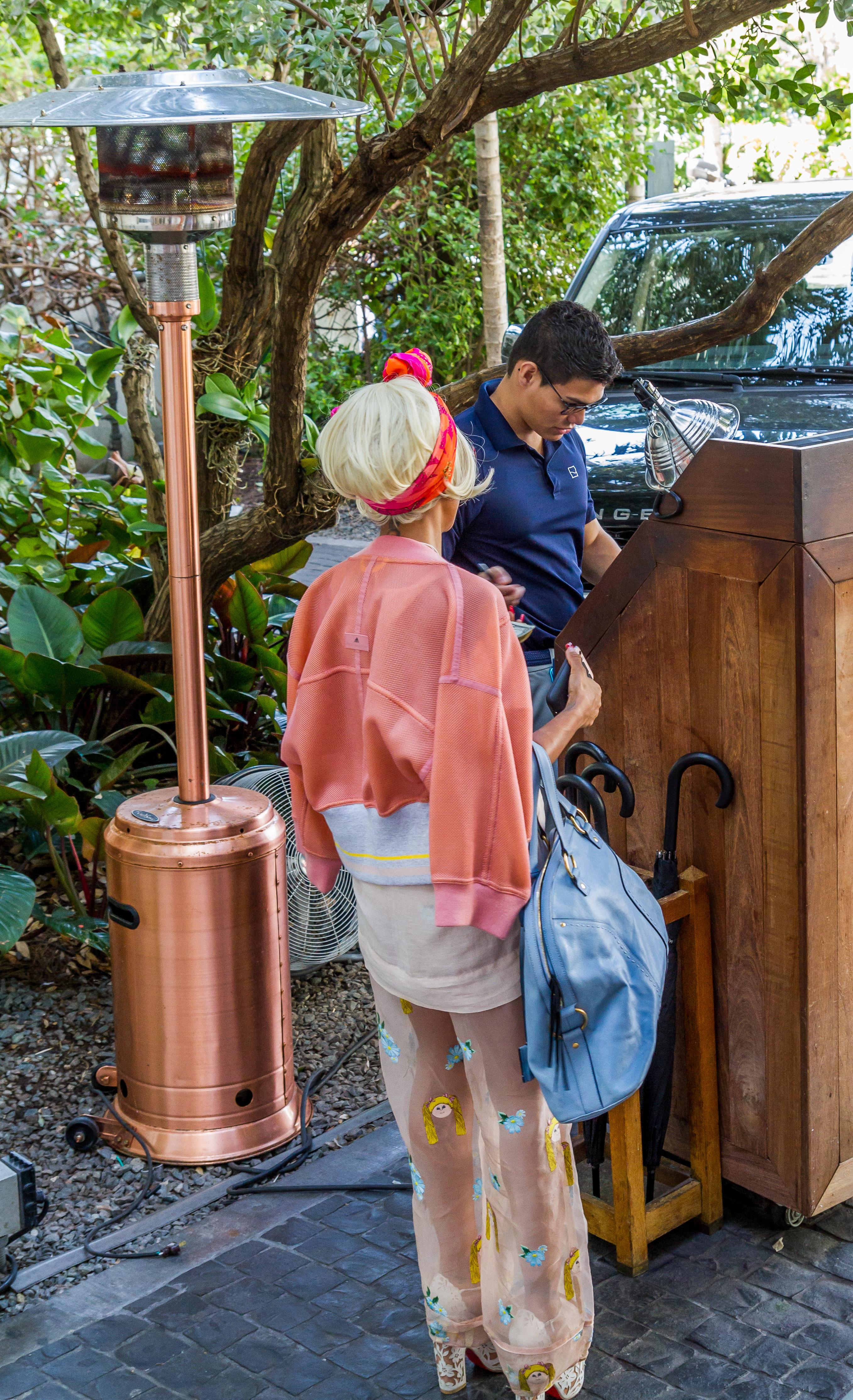 Fashion for Breakfast Cameron Silver Cecconis Miami Beach 8