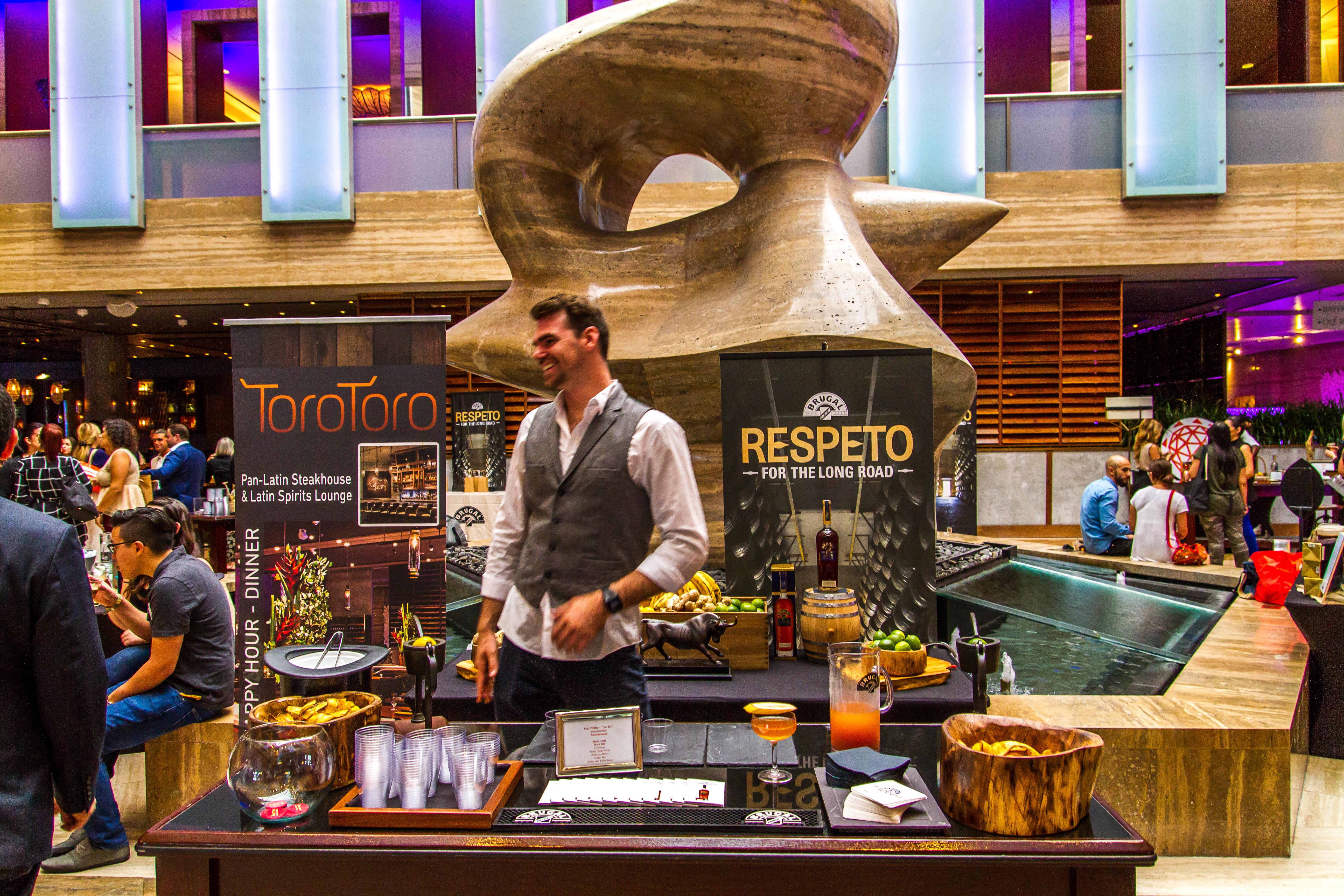 InterContinentalMiami Hotel Cocktails for a Cause Toro Toro Matt Phillips