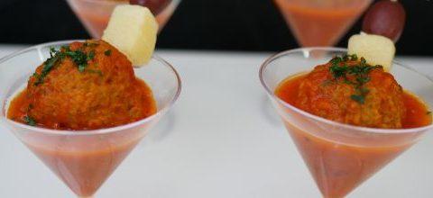 Meatball Martini Recipe and Delgrosso Giveaway