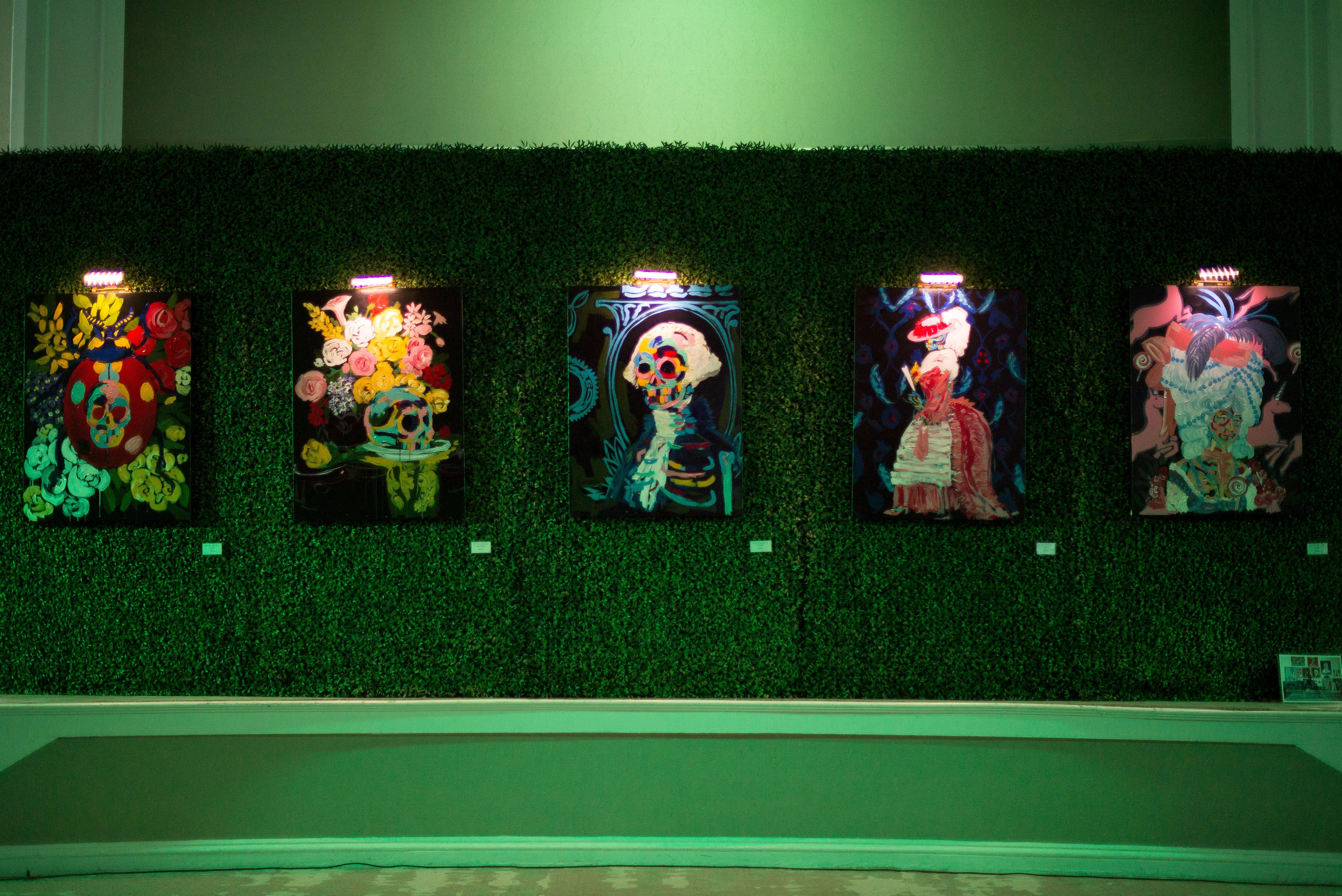 IVY Art Basel 2016 Bradley Theodore _Paintings