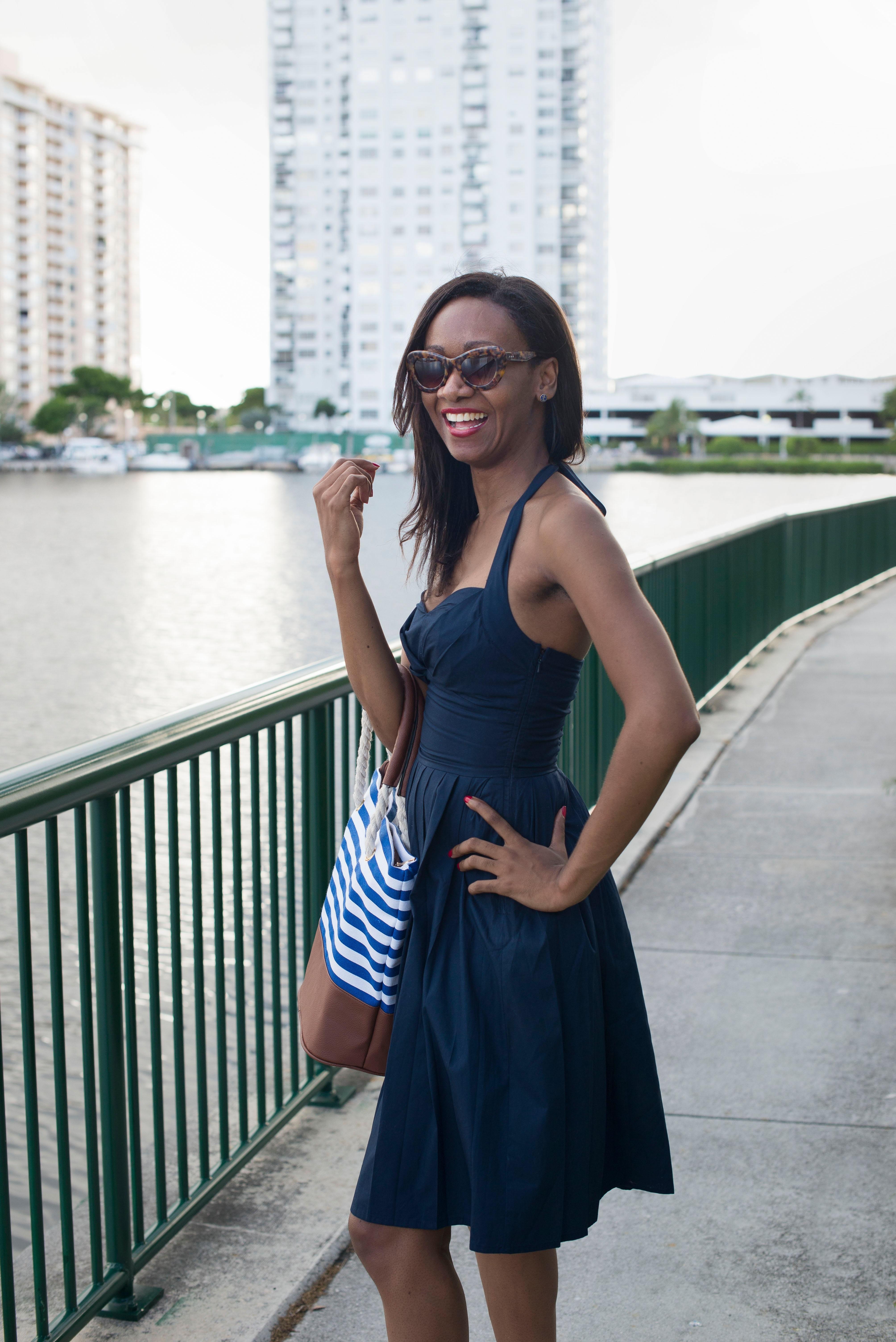 navy_halter_dress_nautical_chic