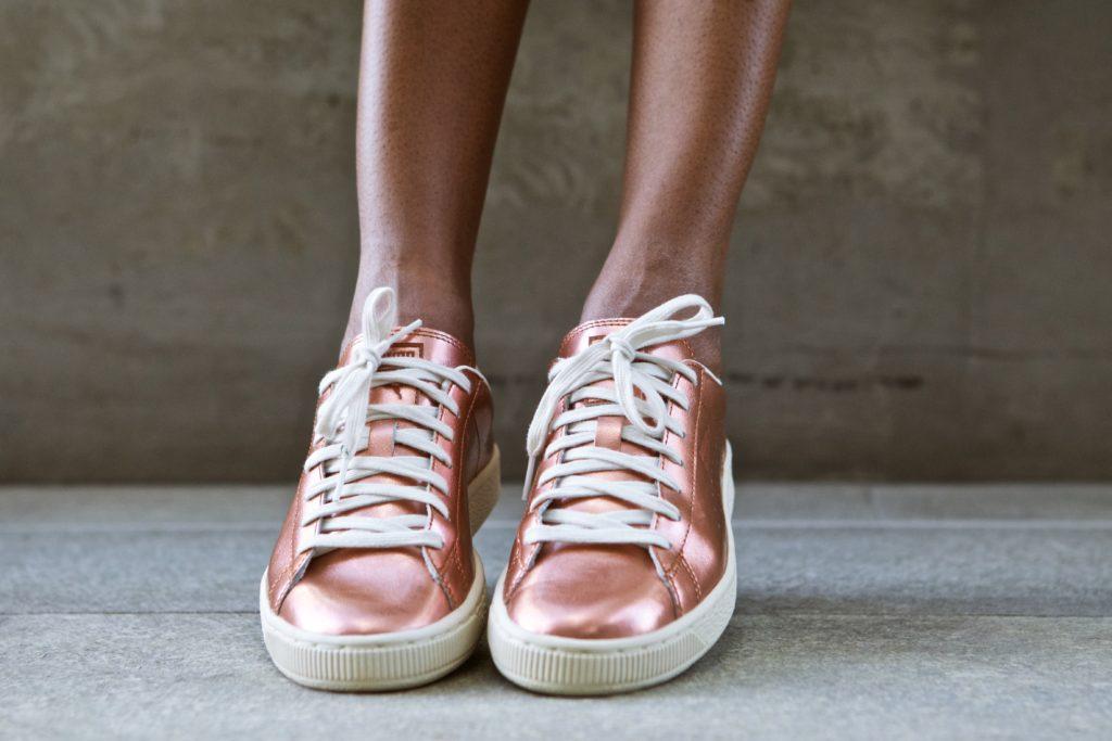Shoes Metallic Sneakers