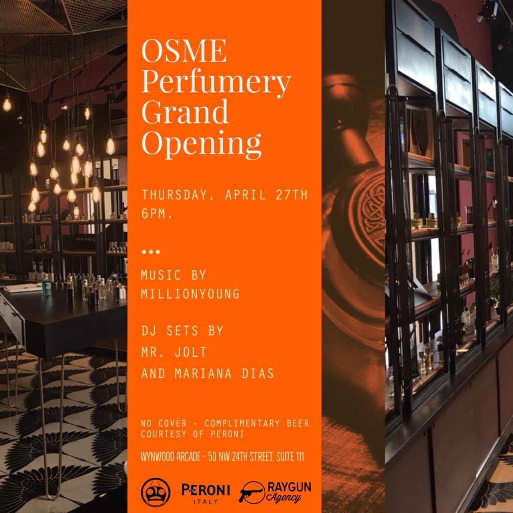 OSME Perfumery, Wynwood Arcade